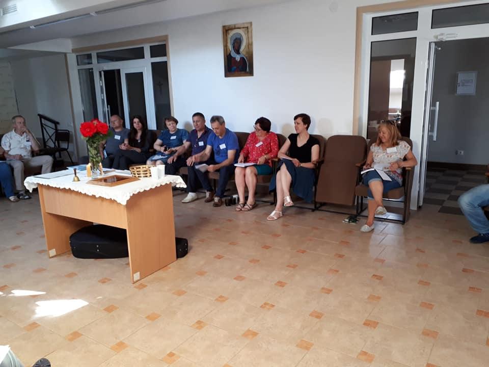 Rekolekcje pogłębiające o temperamentach Ukraina Berdyczów 8-9.6.2019