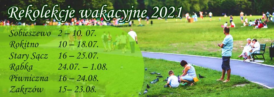 rekolekcje 2021 baner2