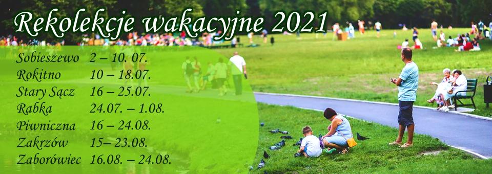 rekolekcje 2021 baner4